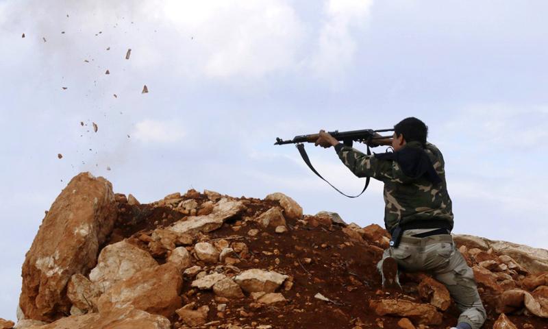 صورة درعا..اجتماع بين مخابرات الأسد والحر