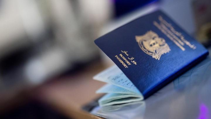 صورة إجراءات معقدة لمن يفقد جواز سفره السوري