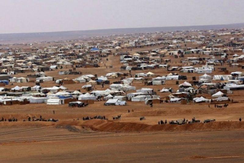 صورة وفاة ثاني طفل في مخيم الركبان بأقل من 24 ساعة