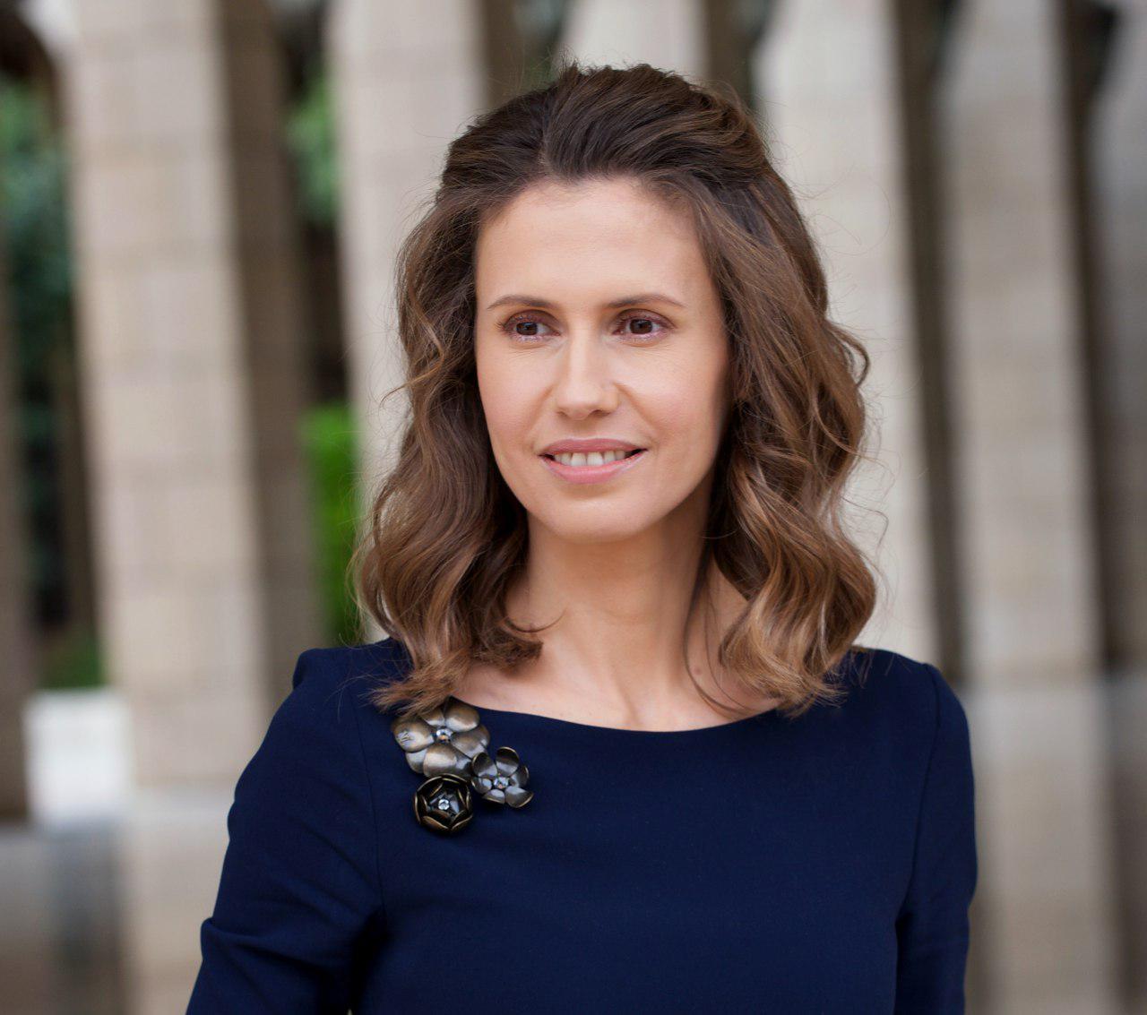 صورة بعد إصابتها بالسرطان..هكذا بدت أسماء الأسد