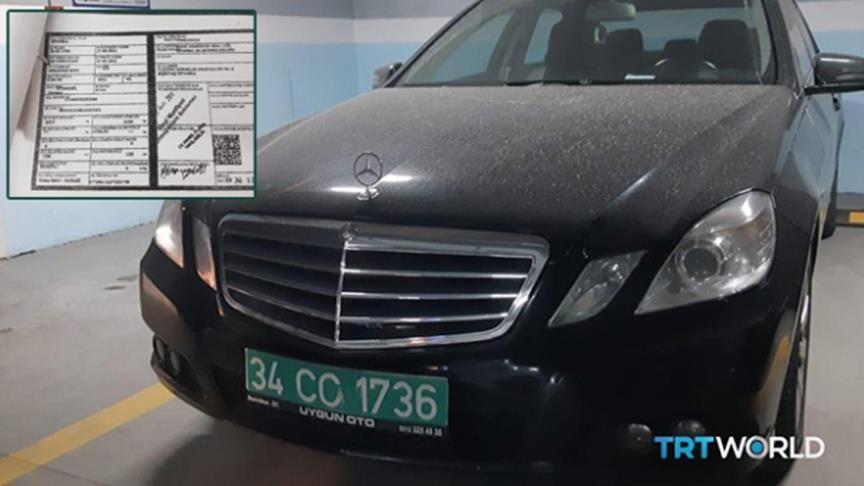 صورة العثور على سيارة للقنصلية السعودية في مرآب باسطنبول