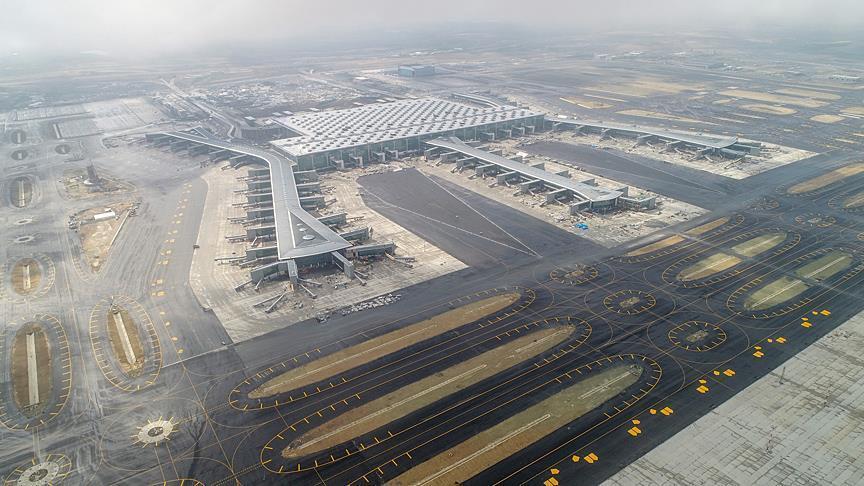 صورة في الذكرى 95 لتأسيس الجمهورية.. أردوغان يفتتح أكبر مطار في العالم