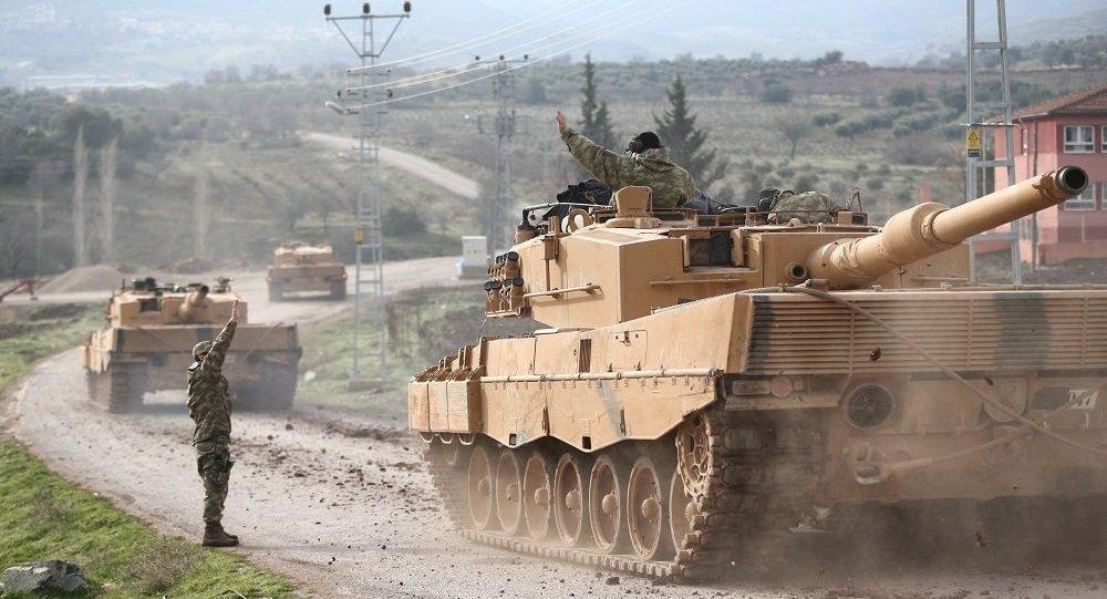 """صورة الرقة..الجيش التركي يستهدف مواقع """"ب ي د"""""""