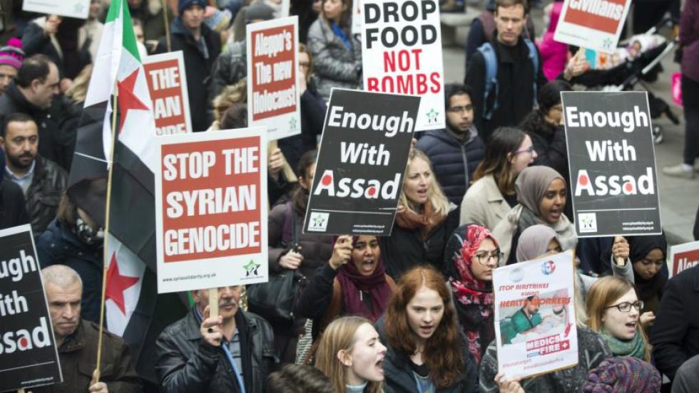 """صورة صحيفة: سوريا المستقبل يجب لا ألا تضم """"الأسد"""""""
