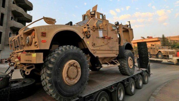"""صورة 100 شاحنة من التحالف الدولي إلى """"قسد"""""""