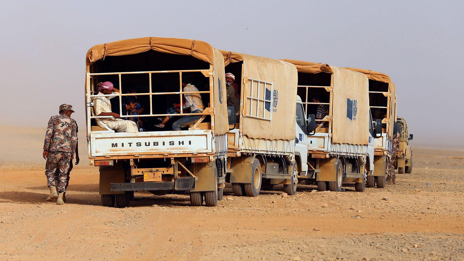 صورة بعد اتفاق أردني روسي.. تخوف بين سكان مخيم الركبان