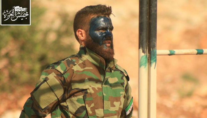 """صورة جيش العزة: """"سوتشي"""" فرصة لانهاء الثورة"""