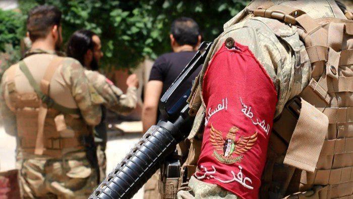 """صورة حملة أمنية واسعة لـ""""الحر"""" في عفرين"""