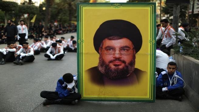 """صورة نجل """"نصر الله"""" على قوائم """"الإرهاب العالمي"""""""