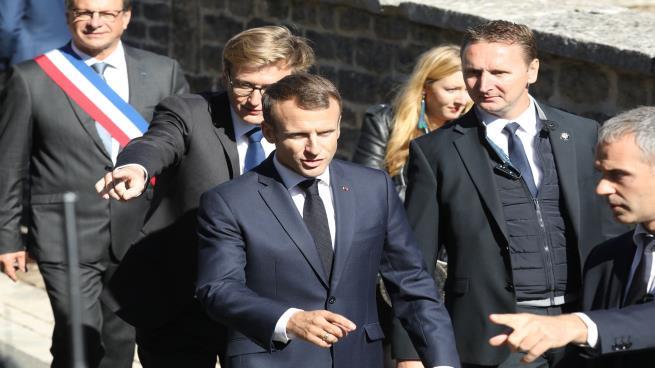 صورة الأمن الفرنسي يحبط مخططاً لاغتيال ماكرون