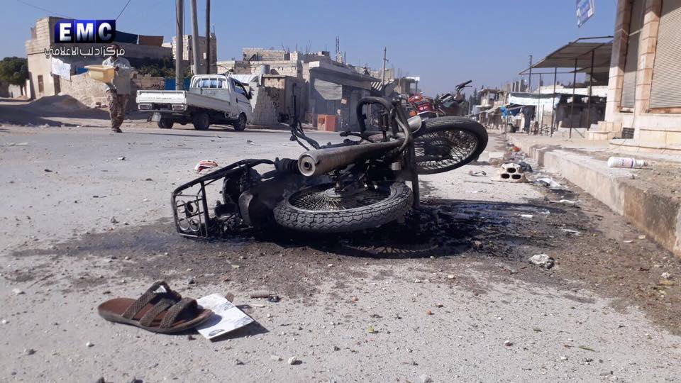 """صورة الأسد يستهدف """"جرجناز"""" براجمات الصواريخ..و10 ضحايا"""