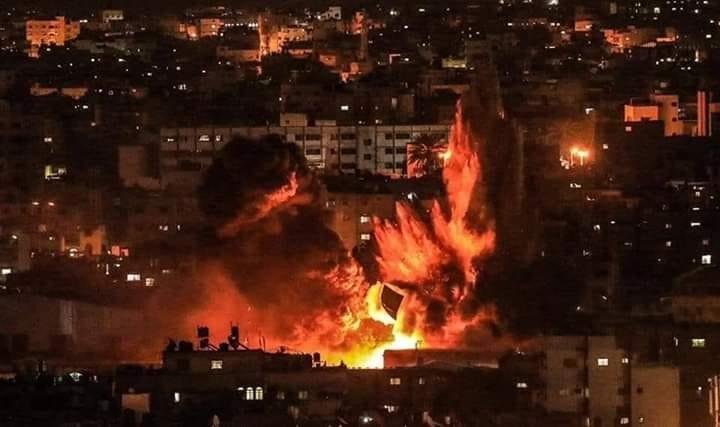 """صورة التصعيد على غزة يتسع والمقاومة تهدد """"تل أبيب"""""""