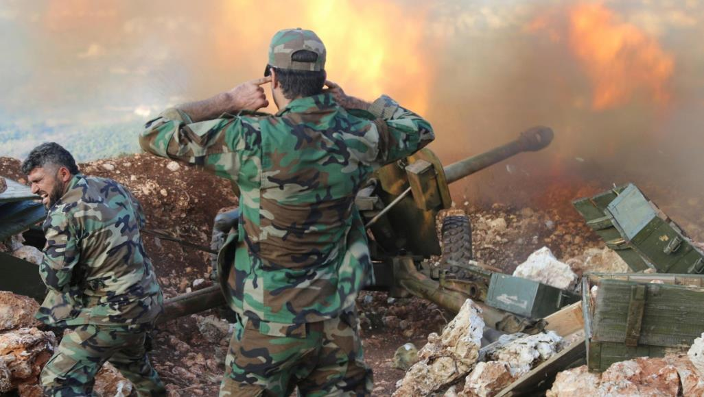 صورة 200 شاب بريف حمص ينتسبون لقوات النظام