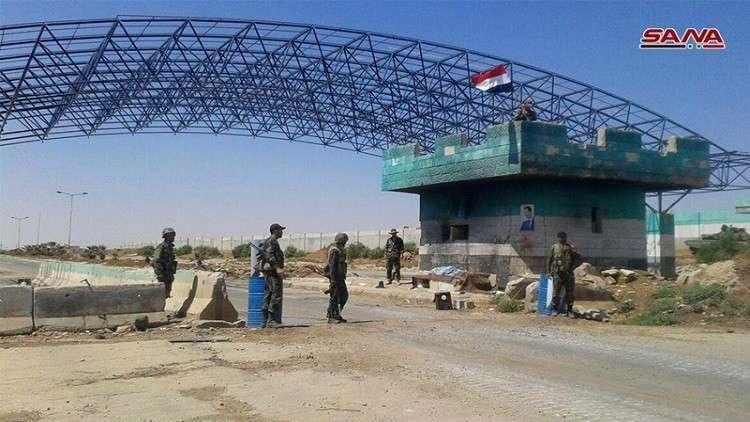 """صورة محافظ درعا: لم يعد أي لاجئ من معبر """"نصيب"""""""