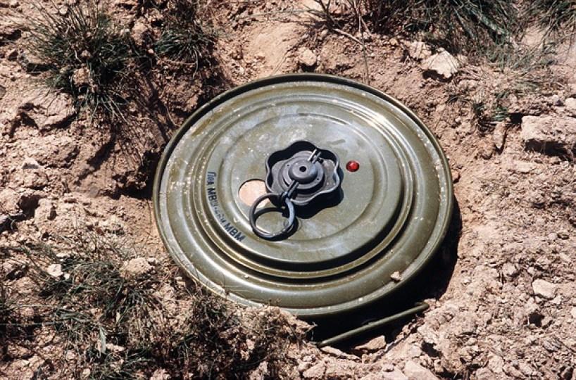صورة مبادرة دولية لإزالة الألغام في سوريا