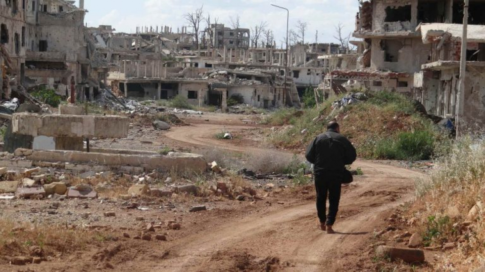 صورة درعا..قوات الأسد تعتقل 13 مدنيا خلال 48 ساعة