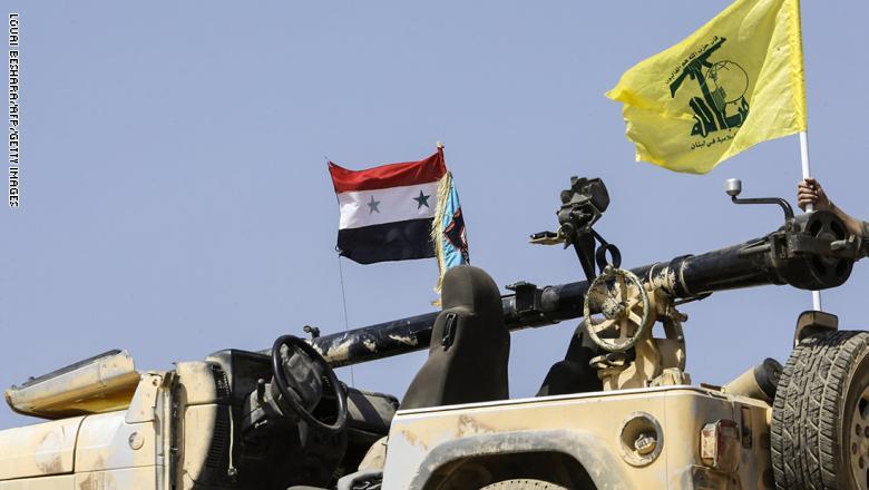 """صورة وزير لبناني: حزب الله """"إرهابي"""" ينفذ مخطط إيراني بسوريا"""
