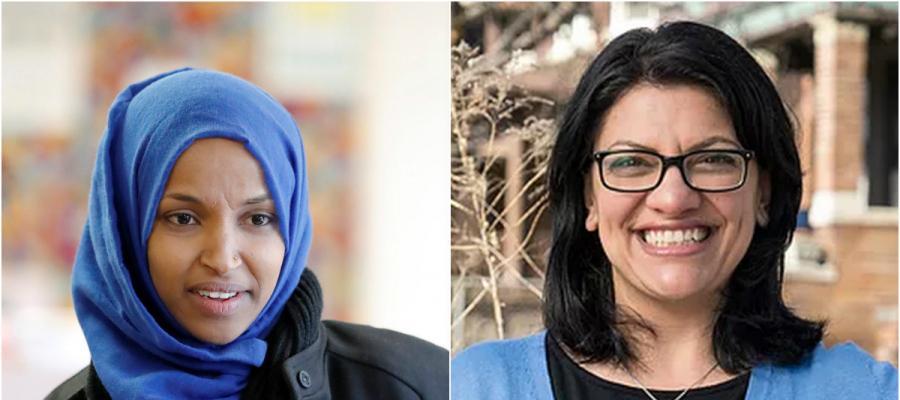 صورة انتخاب أول مسلمتَين لعضوية الكونغرس الأميركي