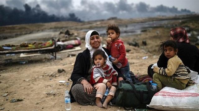 صورة النظام يتسبب بنزوح 1800 عائلة من ريف إدلب