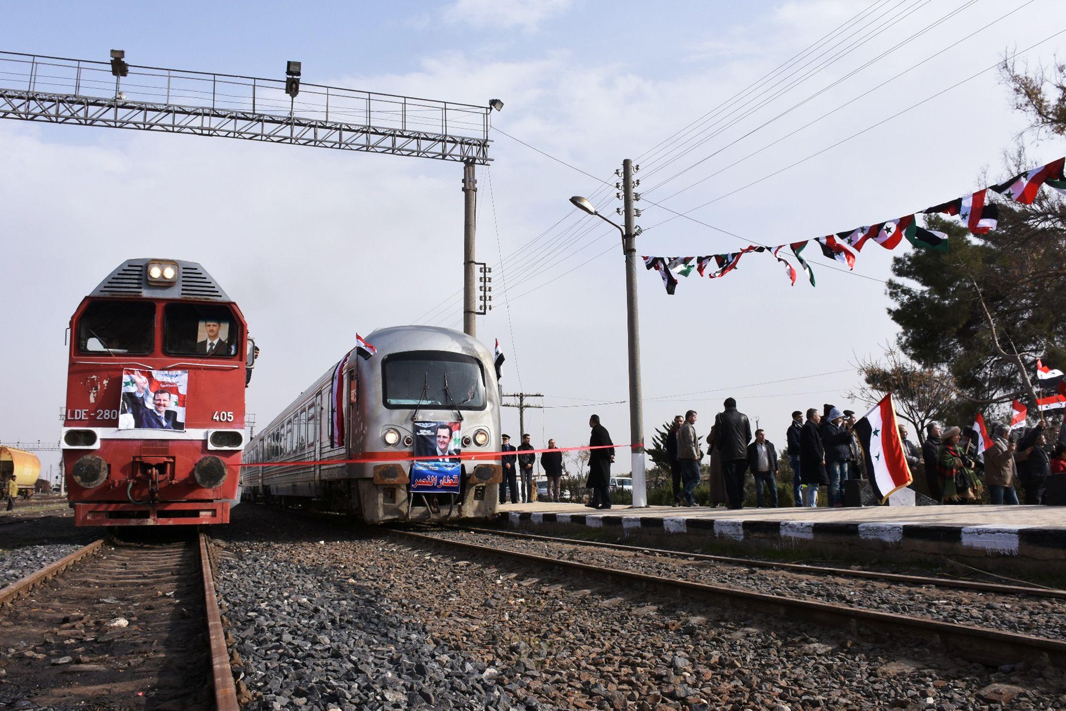 صورة إيران تبني سكة حديد من أراضيها إلى اللاذقية