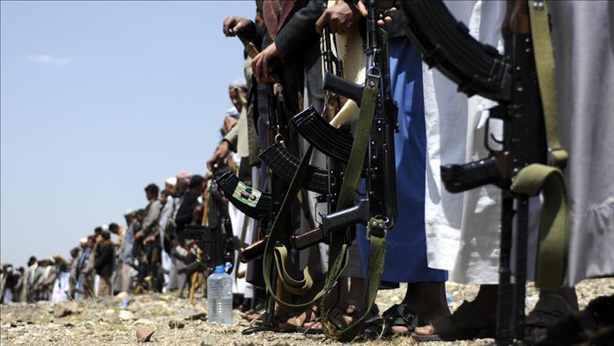 صورة انشقاق وزير إعلام الحوثيين ووصوله الرياض