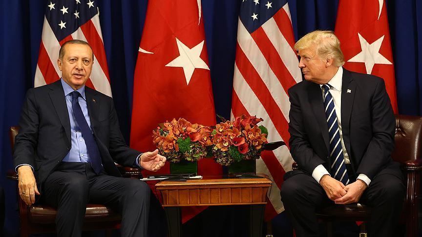 صورة مباحثات تركية أمريكية حول سوريا