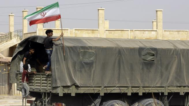 صورة أرتال عسكرية إيرانية تصل ريف حماة