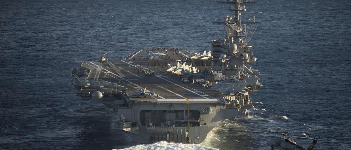 صورة مقتل طيار أمريكي وفقدان 5 بتحطّم طائرتين عسكريتين