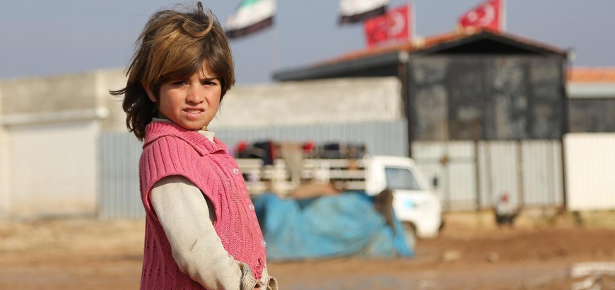 صورة ولادة مليون طفل سوري في دول الجوار