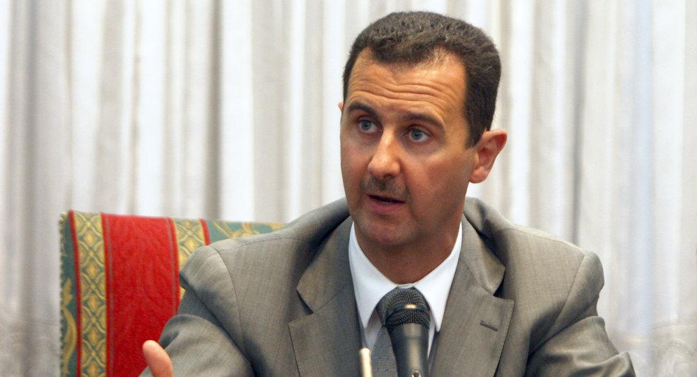 صورة الأسد يمدح دولة خليجية.. ويكشف المستور!