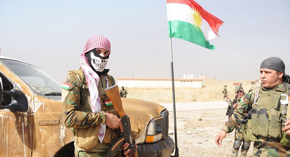 صورة البيشمركة وعقدة الحل شرق سوريا