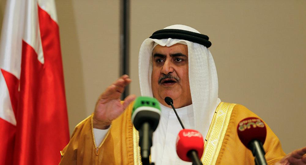 صورة تصريح بحريني جديد مغازل للأسد ونظامه