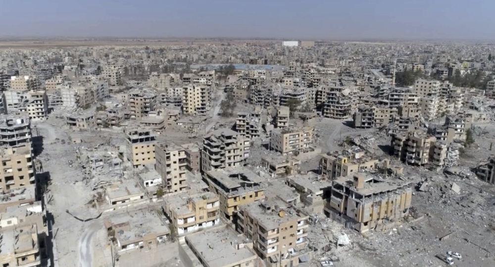 صورة التايمز: فظاعات التحالف الدولي في الرقة لا يمكن وصفها