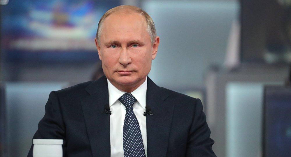 صورة بوتين يمتدح الانسحاب الأمريكي..وهذا ما قاله