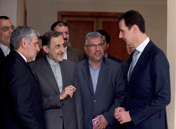 صورة العلاقات العربية مع الأسد تتيح لإيران التغلغل أكثر