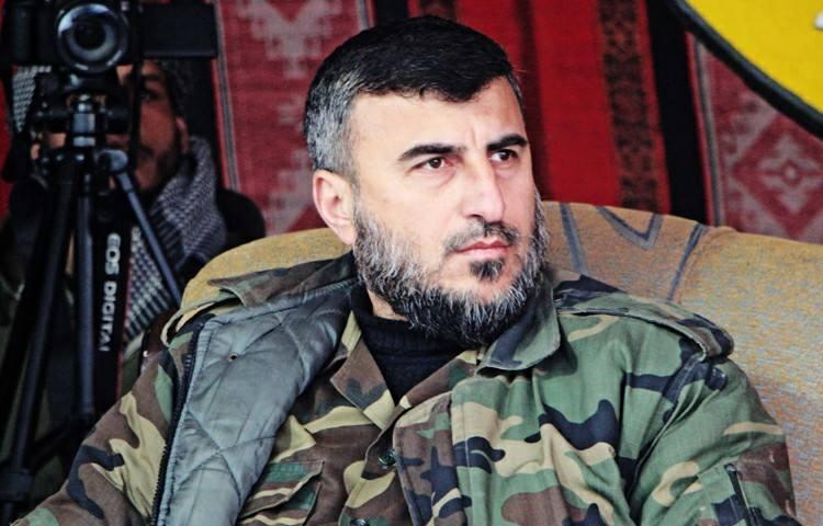 """صورة 3 أعوام على اغتيال القيادي """"زهران علوش"""""""