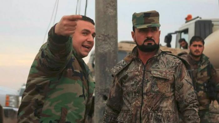 صورة تغييرات عسكرية بقيادة جيش الأسد