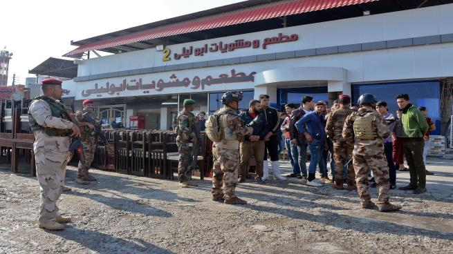 صورة مكاتب الحشد الشعبي في الموصل: عيون إيران على المدينة