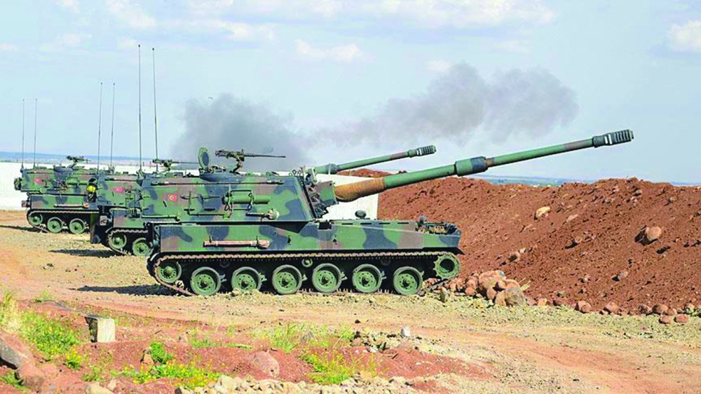 صورة ترامب: تركيا تستطيع انهاء تنظيم الدولة بسوريا