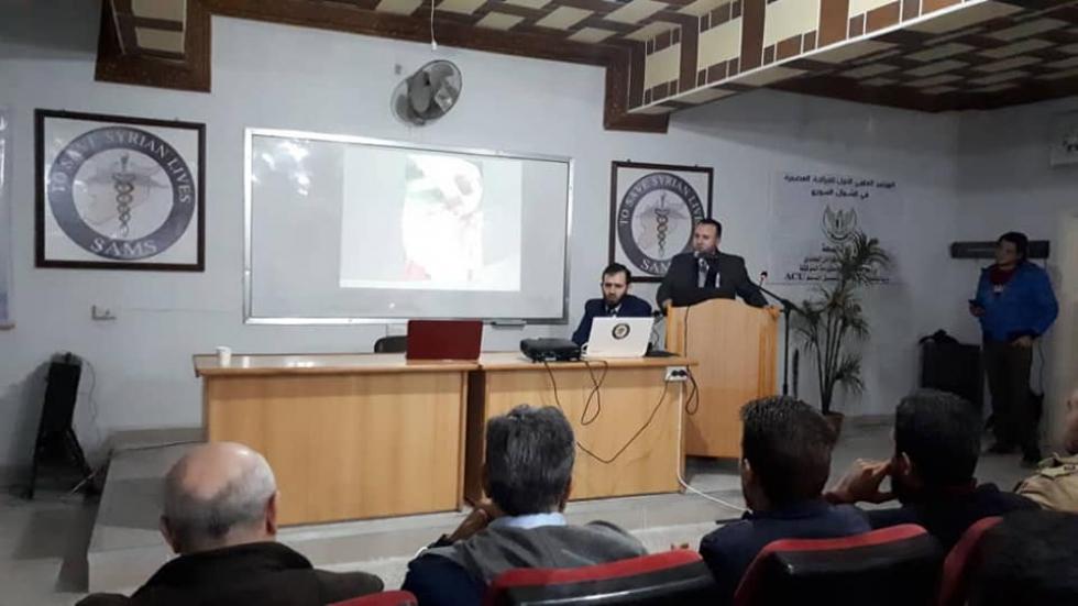صورة إدلب.. توعية طبية لمواجهة التحديات