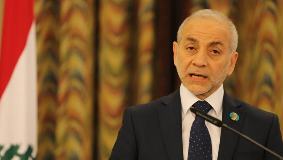 صورة وزير لبناني..لا ضمانات روسية لعود اللاجئين السوريين
