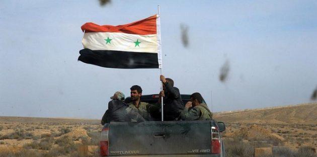 صورة النظام السوري يعلن دخول قواته إلى منبج