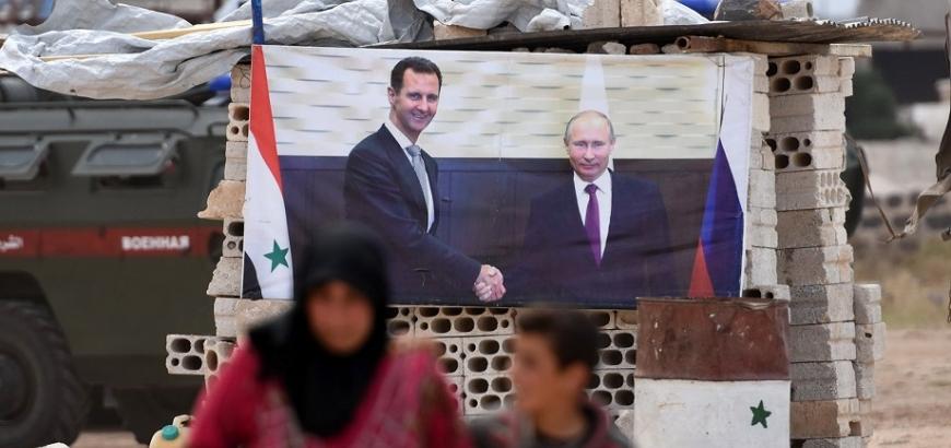 صورة ف.تايمز: نيران الأسد تلاحق مؤيديه