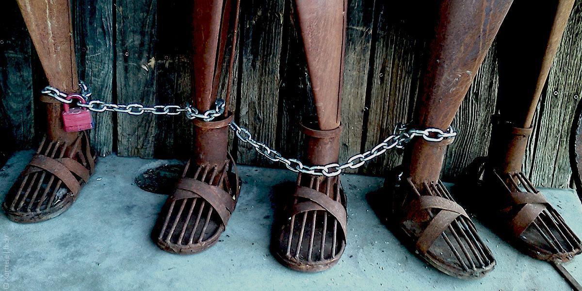 صورة العبودية..40 مليونا و500 ألف لدى العرب