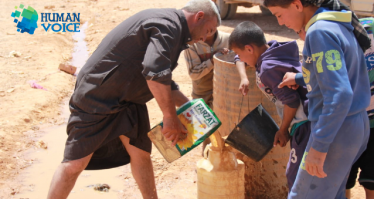 صورة الأردن: لن ندخل نازحي مخيم الركبان إلى أراضينا