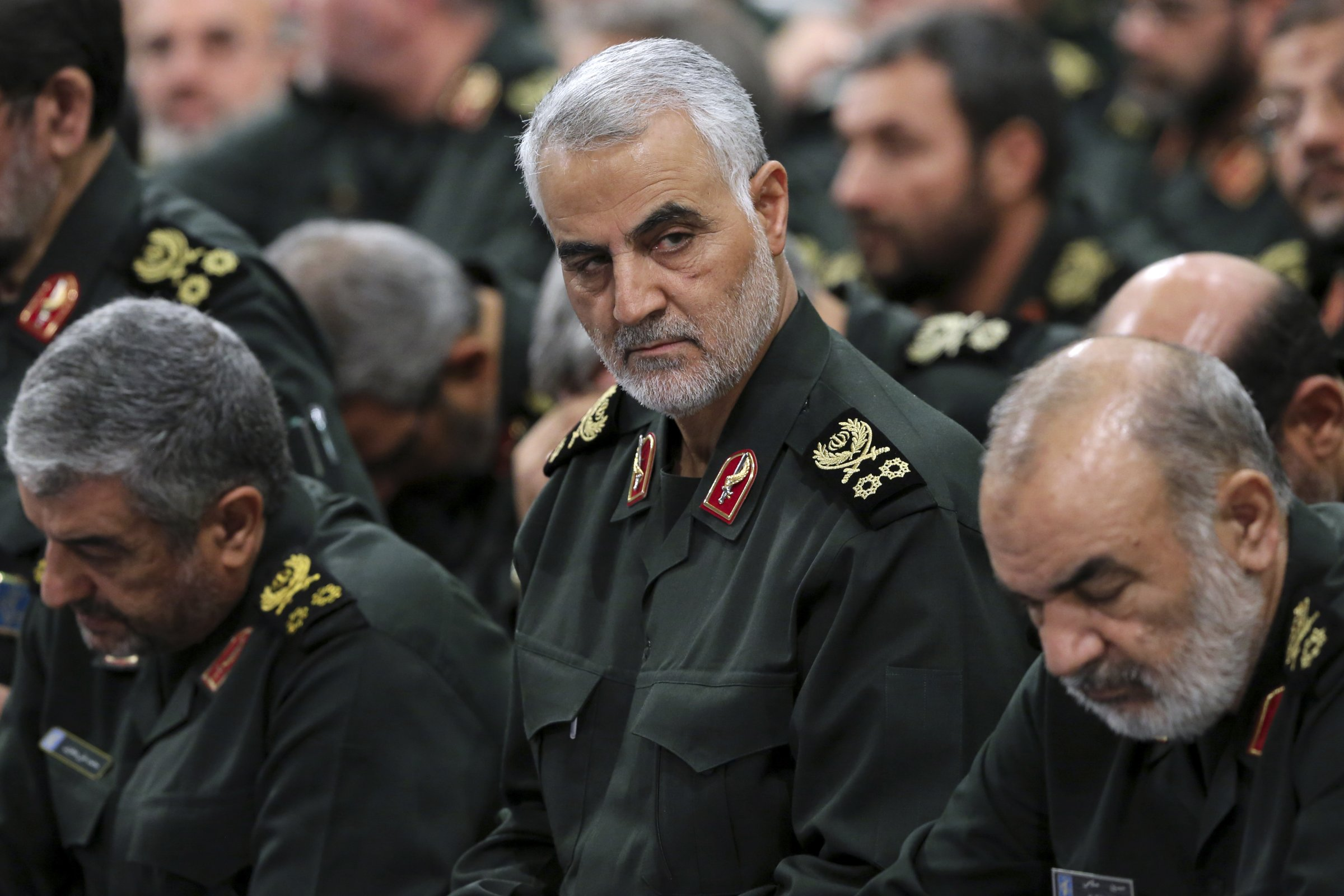 صورة مقتل جنرال إيراني كبير بطلق ناري