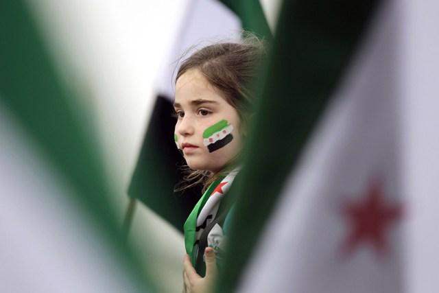 صورة أردوغان: نحن بسوريا لإعادة الحرية لأشقائنا
