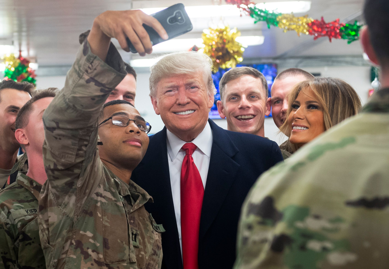 صورة ميليشيا شيعية تتحدا ترامب: قواتك سترحل عن العراق رغماً عن أنفك!