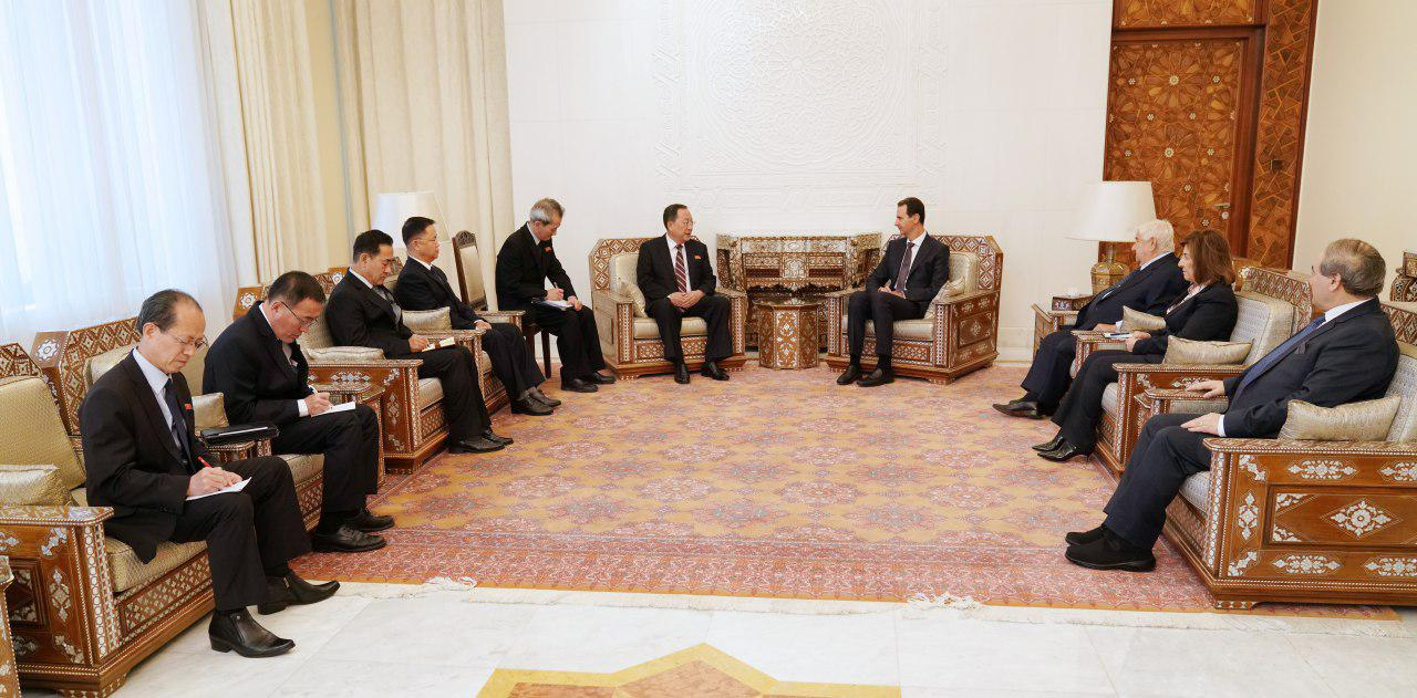 صورة الأسد: سوريا وكوريا الشمالية ستغيران العالم!