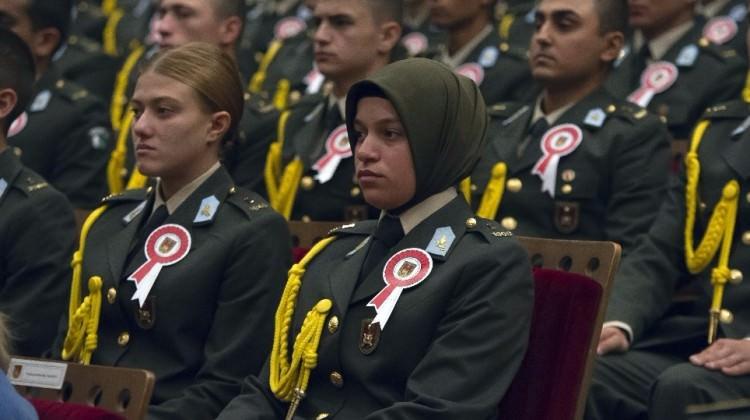 صورة محكمة تركية ترفض تعليق قرار ارتداء الحجاب في الجيش